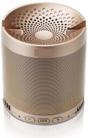 Buy Genuine XQ3 With Electronic Rechargeable Light Weight 3 W Bluetooth Home Audio Speaker(Gold, Stereo Channel)