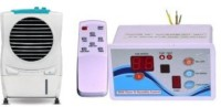 View Pihu Air Cooler Remote Control 009 Tower Air Cooler(White, 25 Litres)  Price Online
