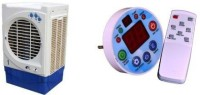 View Pihu Air Cooler Remote Control 020 Tower Air Cooler(White, 25 Litres)  Price Online