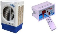 View Pihu Air Cooler Remote Control 003 Tower Air Cooler(White, 25 Litres)  Price Online