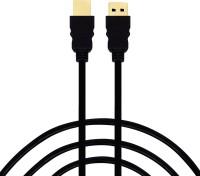 Flipkart SmartBuy FKHDS15 1.5 Mtr HDMI Cable(Compatible with Laptop, TV, Black, One Cable)