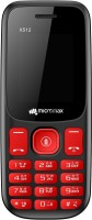 Micromax X512(Black&Red)