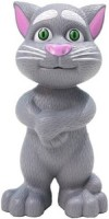 Impressions Talking Tom Cat Toy for Kids Speaking Repeats What You Say - Best Gift(Grey)