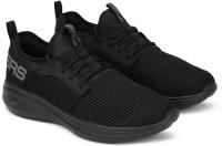 Skechers Go Run Fast-Valor Running Shoes For Men(Black)