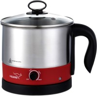 V-Guard VKM12 Electric Kettle(1.2 L, Steel, Candy Red)