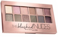 MAYBELLINE NEW YORK The Blushed Nudes Eyeshadow Palette 9 g(Multicolor)