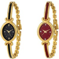 AK TOP BRAND HI QULITY AND BEST DIAL GIRL TWO WATCH COMBO GILE@122 Analog Watch  - For Girls