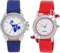 AK TOP BRAND HI QULITY AND BEST DIAL GIRL TWO WATCH COMBO GILE@117 Analog Watch  - For Girls