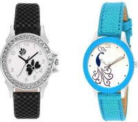 AK TOP BRAND HI QULITY AND BEST DIAL GIRL TWO WATCH COMBO GILE@110 Analog Watch  - For Girls