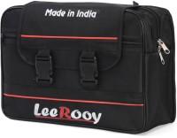 LeeRooy One-side Black Fabric Motorbike Saddlebag(25 L)