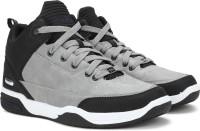 FUBU Basketball Shoes For Men(Black, Grey)