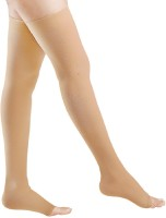 FLOVEIN MEDICAL COMPRESSION STOCKINGS CLASS 2 THIGH LENGTH PAIR SMALL Knee, Calf & Thigh Support(Beige)
