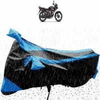 NIKROKZ Two Wheeler Cover for Honda(CB Shine, Black, Blue)