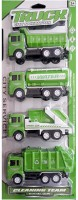 KT BROTHERS Unbreakable Friction Force Transport Water Tank Trucks Toy(Green)