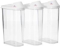 Sarthak Uphaar Small Kitchen Storage Container  - 750 ml Plastic Grocery Container, Utility Box(Pack of 3, White)