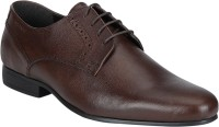 Red Tape Formal Leather Derby For Men(Brown)