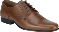 Red Tape Formal Leather Derby For Men(Tan)