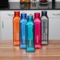 cello VENICE FRIDGE WATER BOTTLES 1000 ml Bottle(Pack of 5, Multicolor, Plastic)
