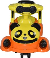 TOYKING CUTE PANDA NON-BATTERY MAGIC RIDE-ON CAR Car Non Battery Operated Ride On(Multicolor)