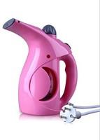 KASHUJ Portable Handheld Clothes Steam Iron Machine 750 W Garment Steamer(Pink)