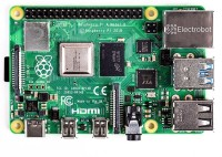 Electrobot Raspberry Pi 4 Model B (4GB) Motherboard