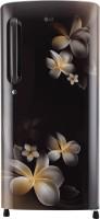 LG 190 L Direct Cool Single Door 5 Star Refrigerator(Hazel Plumeria, GL-B201AHPY) (LG)  Buy Online