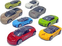 Miss & Chief 8 Freewheel Metal Car Gift pack set Toy for Kids(Multicolor, Pack of: 8)