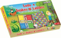 Miss & Chief Ludo + Snake & Ladder Party & Fun Games Board Game