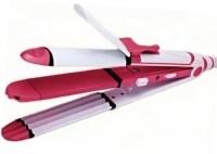 vnexx km-1291 KM 1291 Ceramic Professional 3 in 1 Electric Hair Straightener Hair Straightener(Multicolor)