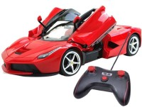 Miss & Chief Ferrari with open door 1:16 5-channel Remote Control(Red)