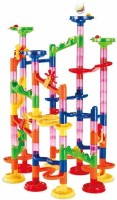 Chocozone Marble Run Track 108 Piece Marble Maze Building Sets(Multicolor)