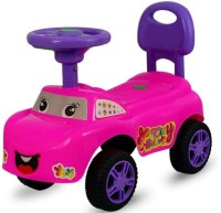 Vihaa Ride On Car for Kids with Music Car Non Battery Operated Ride On(Pink)