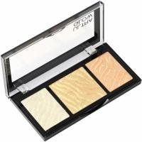 Swiss Beauty Blusher (Highlighter & Bronzer Palette) Shade-1(Shade-1)