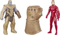 Marvel Iron Man, Thanos and Infinity Gauntlet Titan Hero Series(Multicolor)