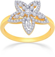 Malabar Gold and Diamonds R55529_Y_VVSVS-GH 18kt Diamond Yellow Gold ring