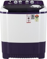 LG 8 kg 5 Star Rating Semi Automatic Top Load Purple, White(P8035SPMZ)