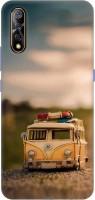 Casotec Toy Car Design 3D Printed Hard Back Case Cover for Vivo S1