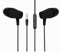 Ubon UB-643 Universal Wired Headset with Mic(Black, In the Ear)