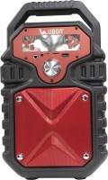 Ubon Party Speaker 18 W Bluetooth  Speaker(Red, Stereo Channel)