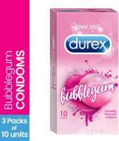 Durex Bubblegum Flavoured Condom