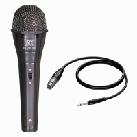 MX Multi-Purpose Dynamic Vocal Mic Microphones with XLR to Mono Cable HT-1101 Microphone