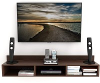 Home wood Engineered Wood TV Entertainment Unit(Finish Color - Brown, DIY(Do-It-Yourself))
