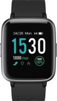 PLAY Playfit SW75 Black Smartwatch(Black Strap Regular) Flipkart deals