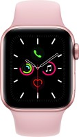 Apple Watch Series 5 GPS + Cellular 40 mm Gold Aluminium Case with Pink Sand Sport Band(Pink Strap, Regular)