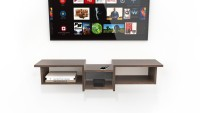 Decostyle wooden TV unit cabinet for living room Engineered Wood TV Entertainment Unit(Finish Color - Wenge, DIY(Do-It-Yourself))