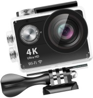 techobucks 4K Action Camera Wi-Fi 16MP Full HD 1080P Waterproof Cam SM-113 Sports & Action Camera(Black)