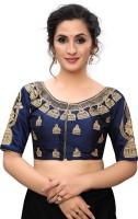 Pratham Blue Round Neck Women Blouse