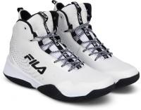 Fila TRI-V High Basketball Shoes For Men(White)