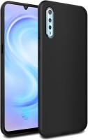 Febelo Back Cover for Vivo Z1x, Vivo S1(Black, Flexible)