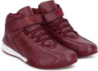 Fila Afro High Motorsport Shoes For Men(Maroon)